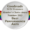 Rainbow Awards and M/M Romance Group Member's Choice Awards